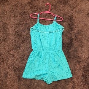 bb1364a38c3c Turquoise M girls romper by Xhilaration